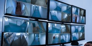 Video Surveillance Installation For Safe Business Place